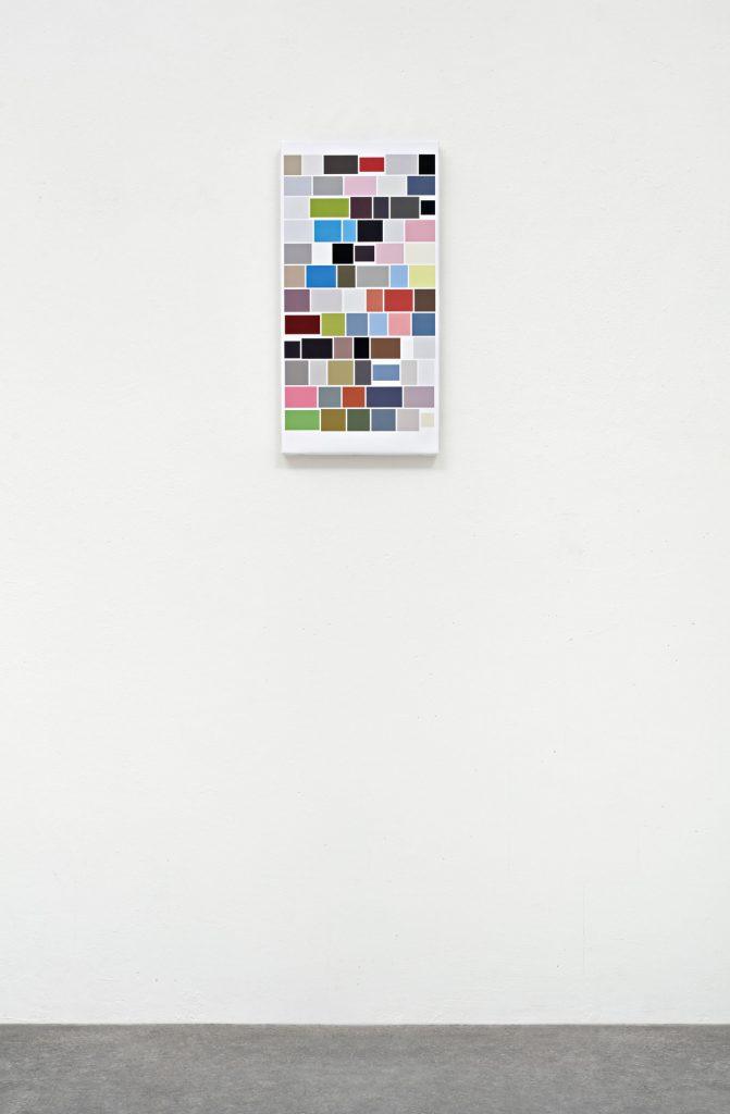 Mehr_Bilder (I.H.), 2017 Digitaler Pigmentdruck auf Leinwand 60 x 30 x 4 cm