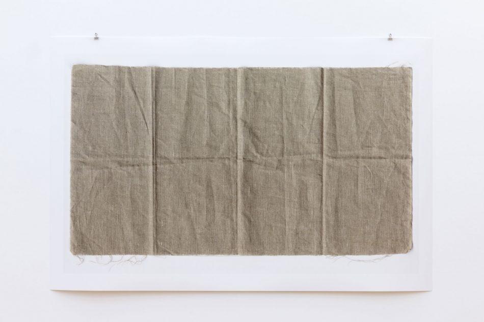 Leinwand 01, 2013 Digitaler Pigmentdruck auf Papier 111,8 x 163 cm Fotografie: Christoph Jaschke