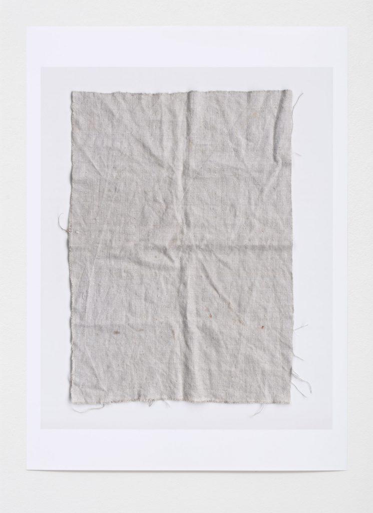 Leinwand 04, 2015 Digitaler Pigmentdruck auf Papier 91 x 66 cm Fotografie: Hans-Georg Gaul